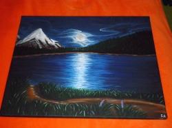 Měsíc nad jezerem - 1308