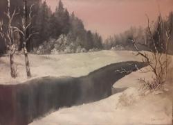 Zimní podvečer - 1302