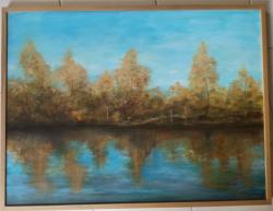 Stromy nad řekou - 1196