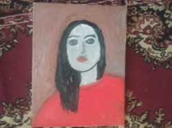 Autoportret v impresionistickem stylu