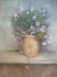 Květiny v květináči - 1196