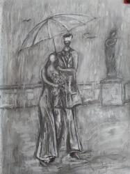 Rande v dešti - 1219