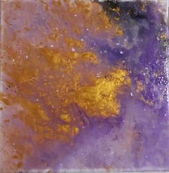 Gold- Lila - 1349