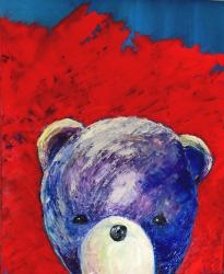 Barevný medvěd - 1358