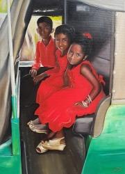 Srílanské děti na svatbě v Tuk Tuku - 1362