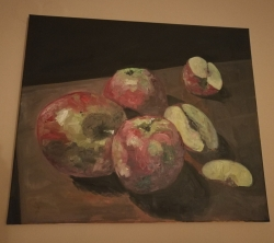 Nahnilá jablka