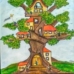 Sídlištní strom - 1340