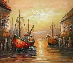 Benátky 60x90 - 633
