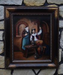 Mnich  s vínem - 920