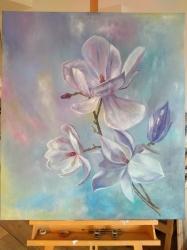 Květy magnolie