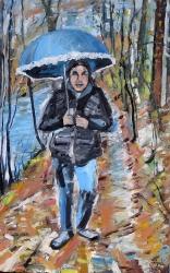 Modrý deštník  - 1446