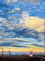 Svítání na pláži - 1446