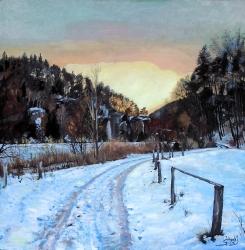 Zimní podvečer - 1446