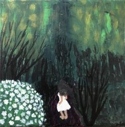 Dívka v lese - 1451