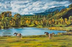 Podzim. Koně - 1467