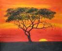 západ slunce afrika - 631