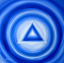 Meditační obraz:VŠE VYCHÁZÍ ZE STŘEDU - 780