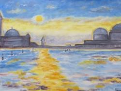 Benátky-západ slunce - prodejce: 623