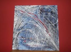 Obraz abstrakt 100x100