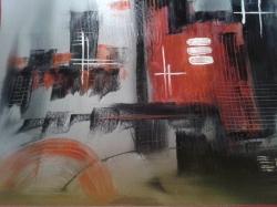 Abstract město