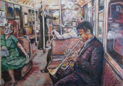 Trumpetista v metru