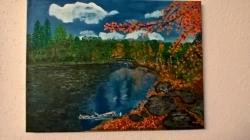 Podzimní řeka  - 1167