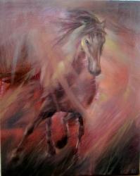 Běžící kůň - 1051