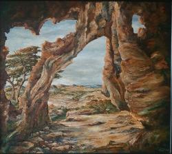Pohled z jeskyně - 1172