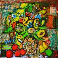 Slunečnice s ovocem - prodejce: 1171