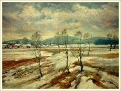 Zima pod Žákovou hora - 1173
