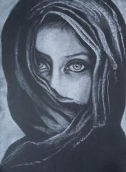 Žena v šátku