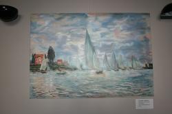 Lodě, regaty u Argenteuil