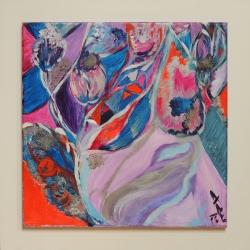 Mozaika květin - 1191