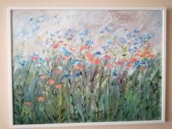 Abstraktní květiny - 1196