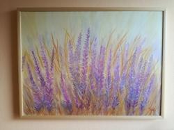 Fialové květy - 1196