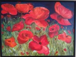 Kvetoucí máky - 1196