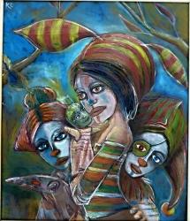 Divoženky z loutkového divadla - 1205