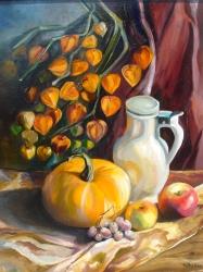 Podzimní zátiší s dýní - prodejce: 1207