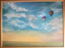 Nebe s balony - 1196