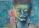 Meditujici budha - 1218
