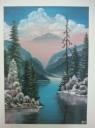 Horské jezero  - 1218