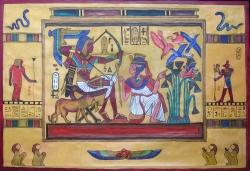 Egyptský motiv - 1227