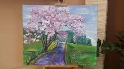 Purple road - 1231