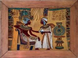 Tutankhamun a Ankhesenpaaten - 1227