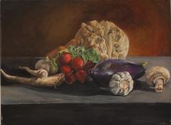 Zátiší se zeleninou - 1242
