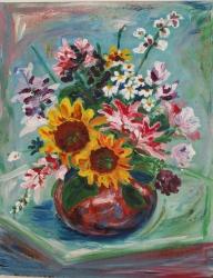 Květiny ve váze 2 - 1247