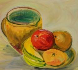 Zátiší s ovocem - 1247