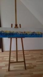 Pobřeží - abstrakce