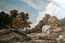 Romantická krajina - 1172