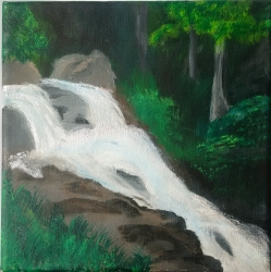 Řeka v lese - 1293